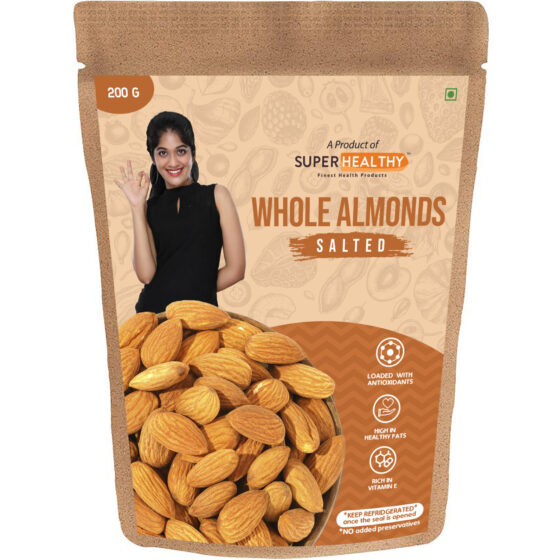 Salted Whole Almonds
