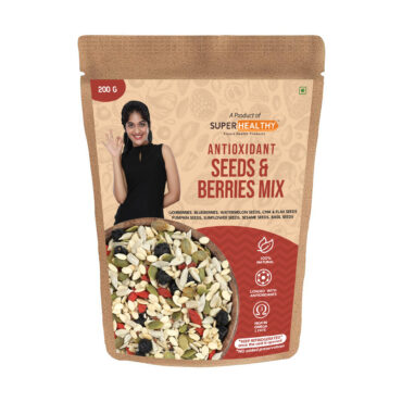 Antioxidant Seeds & Berries Mix – Roasted Mixed Seeds